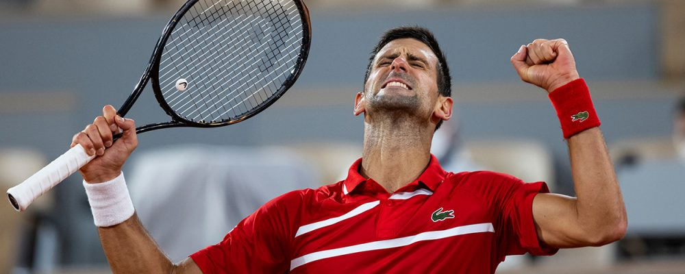 NOVAK DJOKOVIC (SRB)  TENNIS - FRENCH OPEN - ROLAND GARROS - ATP - WTA - ITF - GRAND SLAM - CHAMPIONSHIPS - PARIS - FRANCE - 2020      © TENNIS PHOTO NETWORK